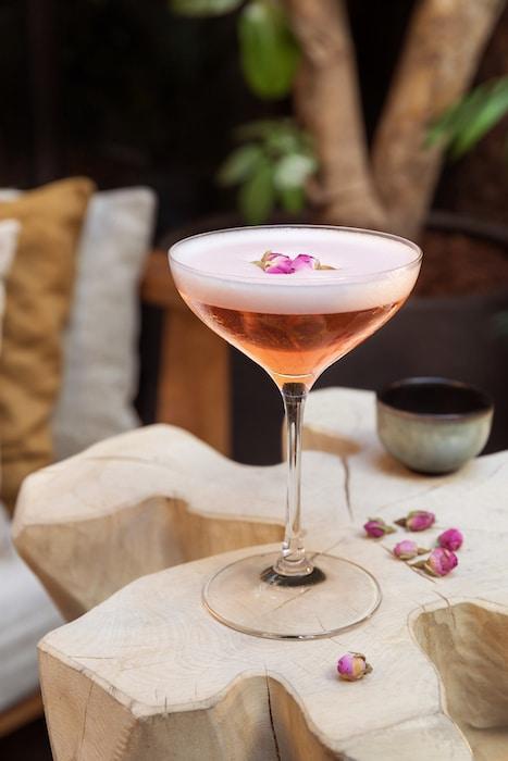 Ode Rosé le cocktail Figuière
