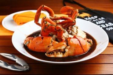Menu Ministry of Crab