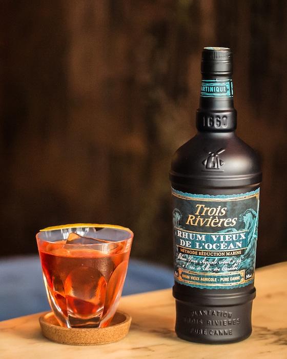 Cocktail Rhum Vieux de l'Océan