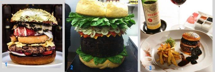 Les burgers les plus chers