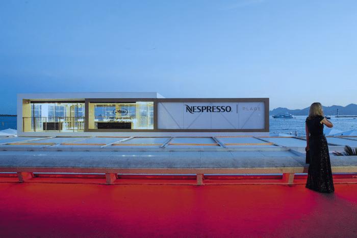 Smocking, tapis rouge et café, La Plage Nespresso 2019 revient