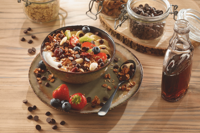 Granola aux fruits