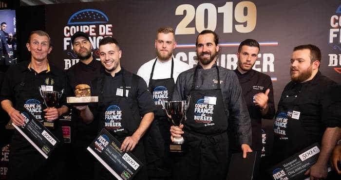 podium Coupe de France du Burger 2019