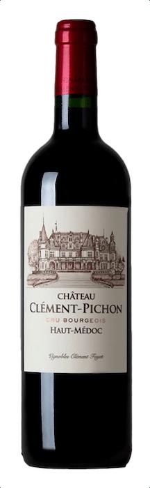 bouteille de Clément-Pichon 2016