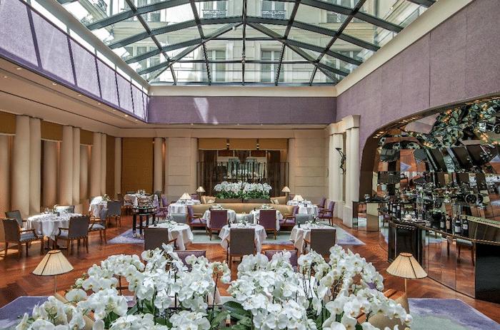 menus de Pâques Park Hyatt Vendôme