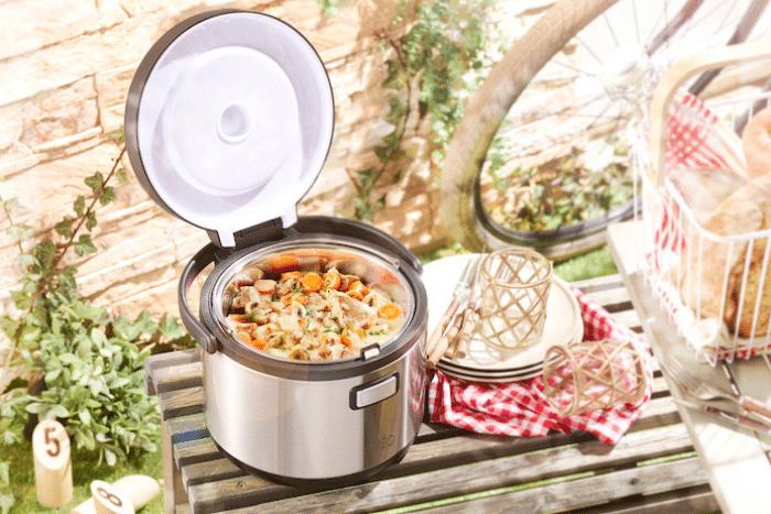 Le cooker nomade, les plats chauds même en pique-nique