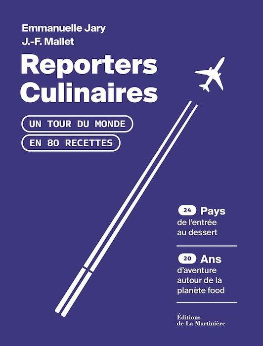 Reporters culinaires livre