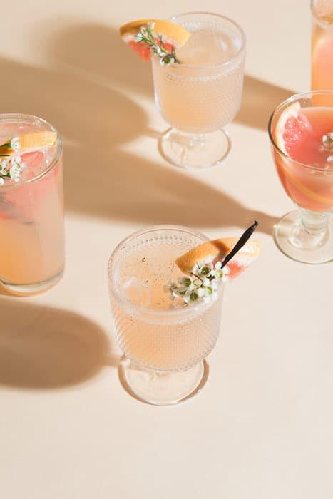 Les cocktails à base de vins effervescents