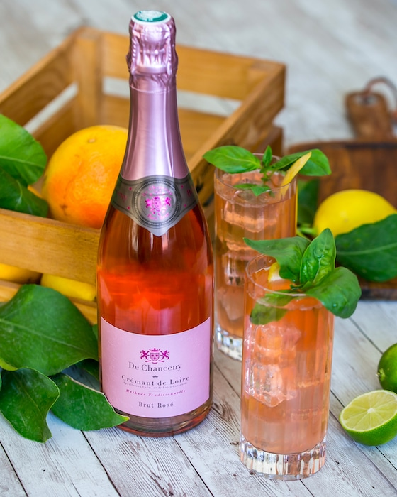 Lychee Spritzer cocktail De Chanceny