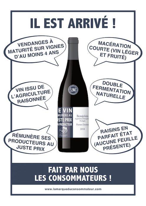 Le Vin des Consommateurs chez Le Petit Ballon