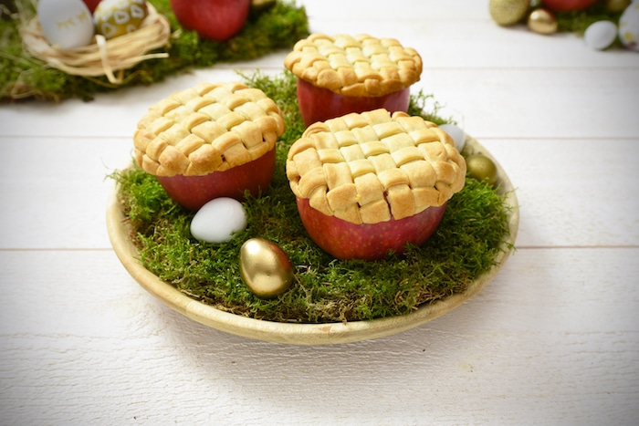 recette de pommes aux spéculoos