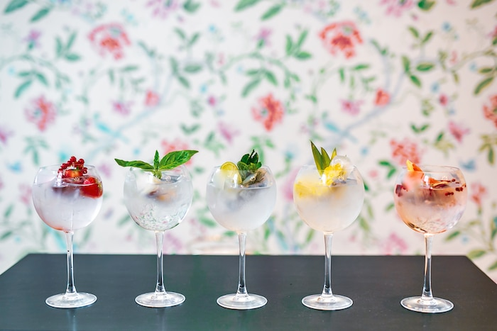Gin et sorbets Trianon Palace