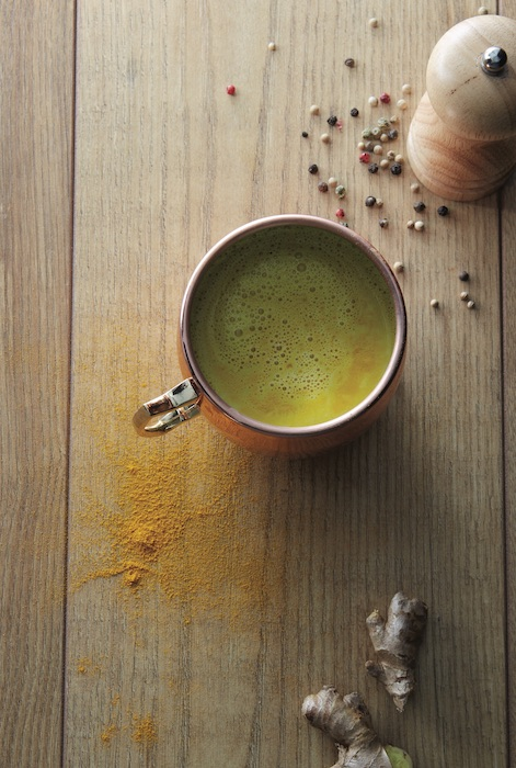 recette de Golden latte