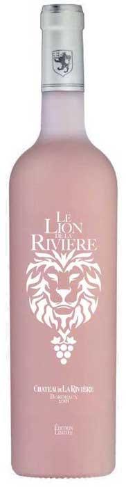Le Lion de La Rivière rosé du Château de La Rivière