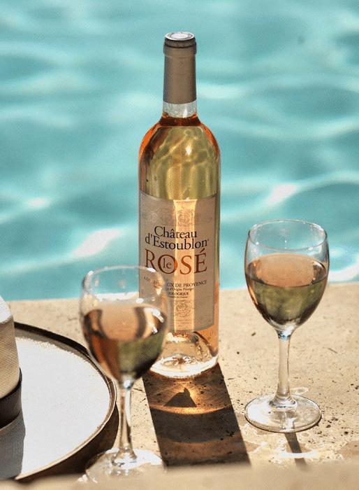 Le Rosé 2018 de Château d'Estoublon