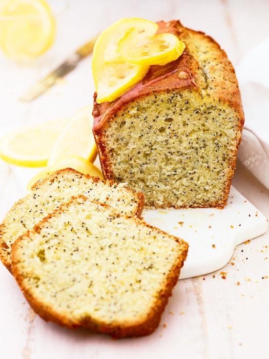 recette de Cake citron-pavot