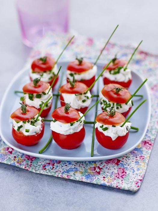 recette de tomates farcies au fromage frais