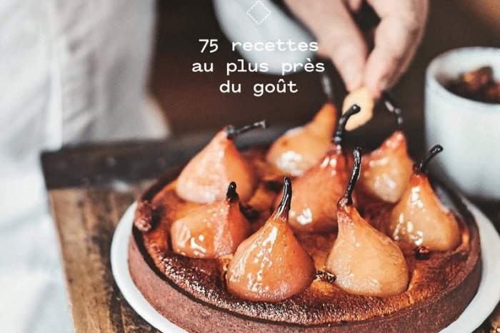 Pâtisserie simplement naturelle, le premier livre de Benoît Castel