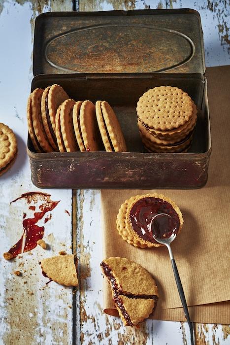 recette de Biscuits fourrés au chocolat