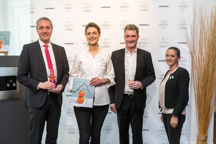 Prix Collet du livre de Chef Pâtissier