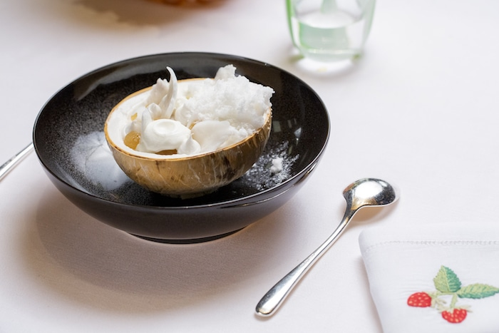 desserts à l'assiette Pâtisserie du Meurice