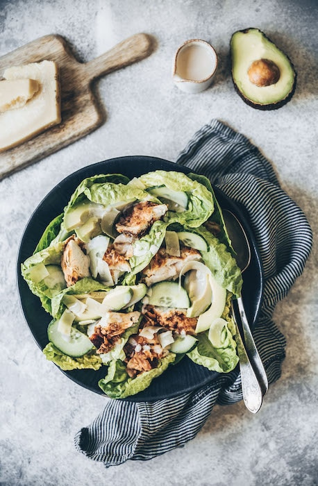 recette de Salade de lapin frit