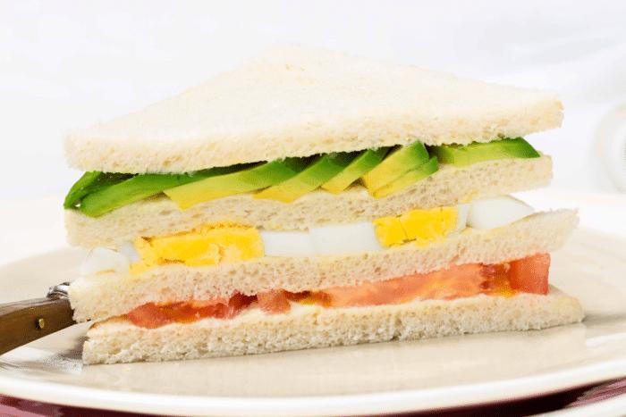 Club Sandwich à l'avocat