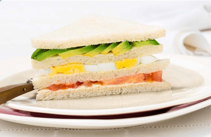 recette de Club Sandwich à l'avocat