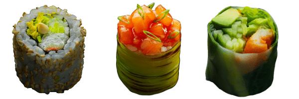 Trees box Sushi Shop Romain Froquet