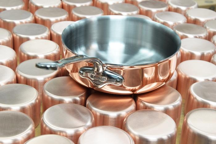 Le cuivre induction de Mauviel