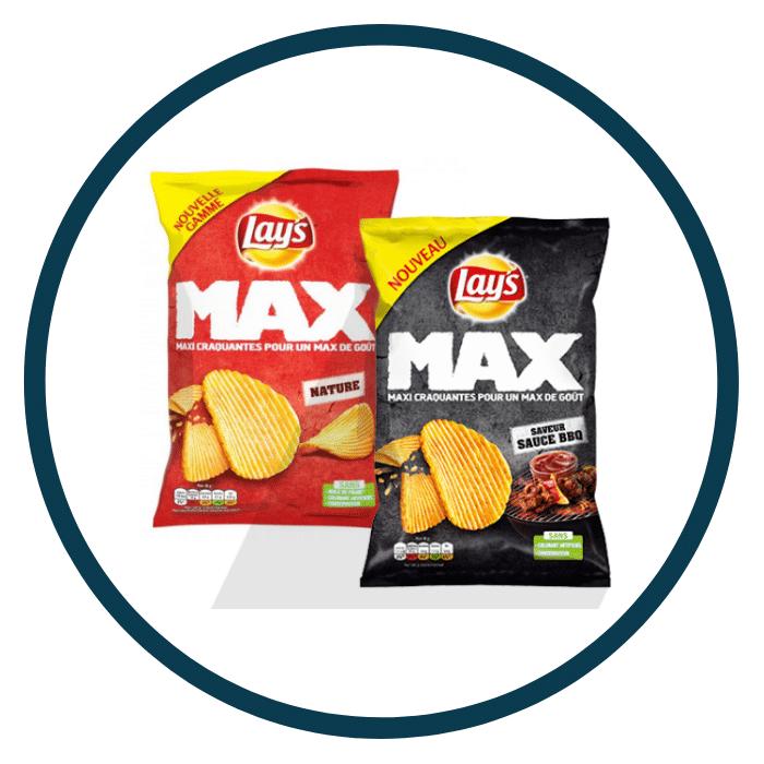 Lay's Max nouveaux produits de juin 2019