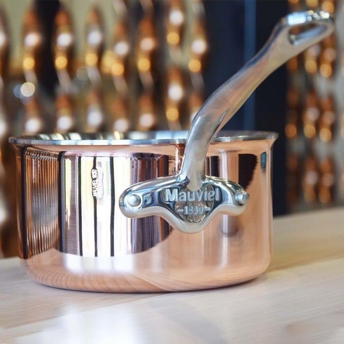 Le cuivre induction de Mauviel gamme M'6S