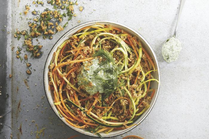 Spaghetti de légumes