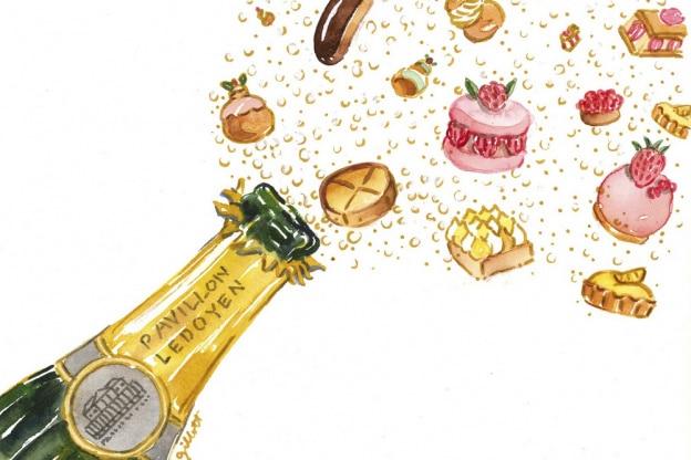 dîner salon Champagnes et Pâtisseries 2019