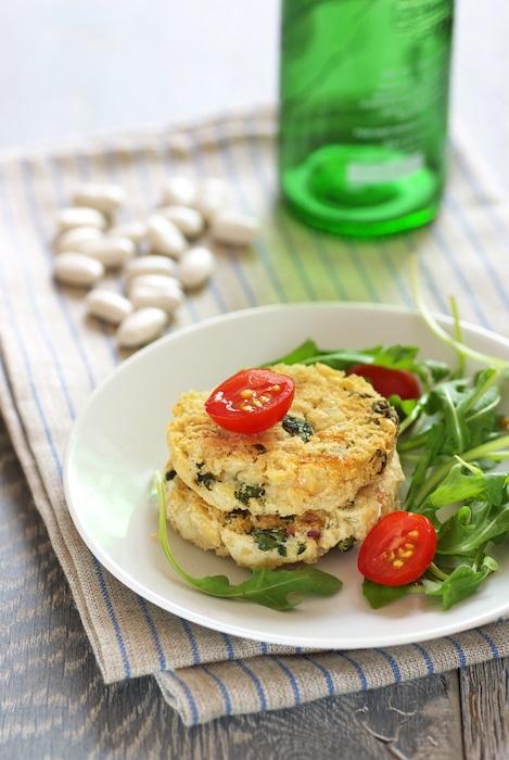 recette de Burger végétal de Haricots Tarbais
