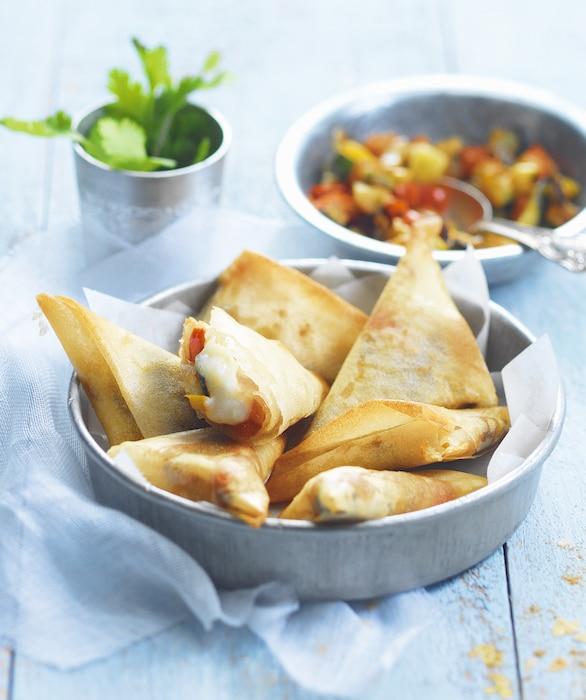 recette de Samossas aux légumes grillés