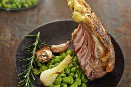 recette de Carré d'agneau en croûte de Raclette