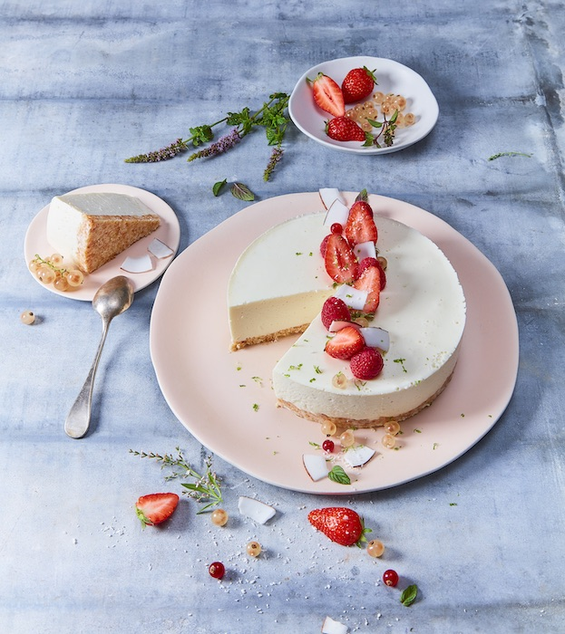 recette de Cheesecake coco au St Môret