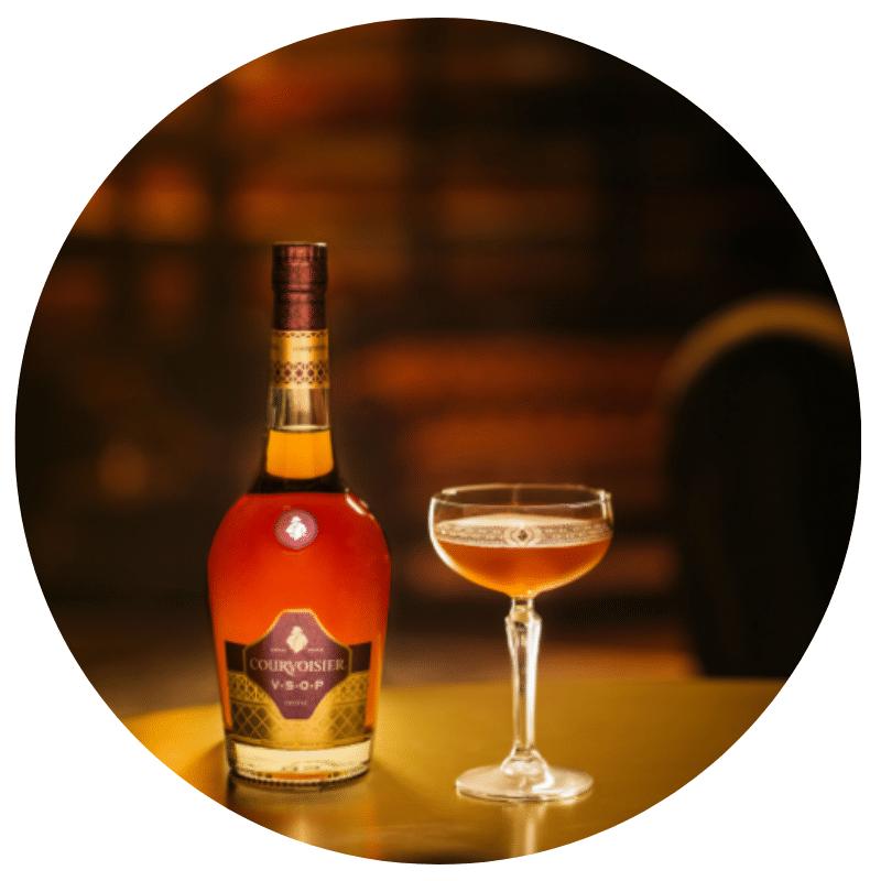 Courvoisier Expresso Martini