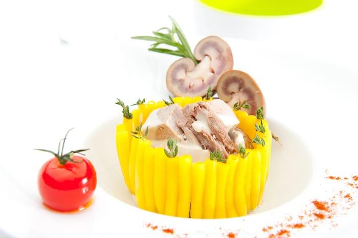 recette de Timbale de macaronis à l'agneau