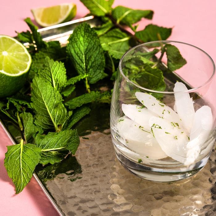 Glaçons sucrés recettes pour des boissons fraîches et saines