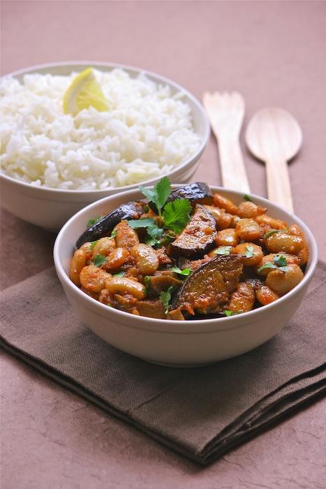 recette de Haricots Tarbais à l'Indienne