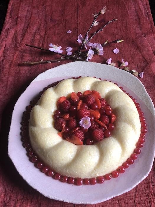 recette de Riz condé aux fruits rouges