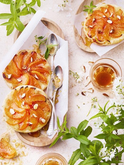 recette de Tartes fines aux abricots