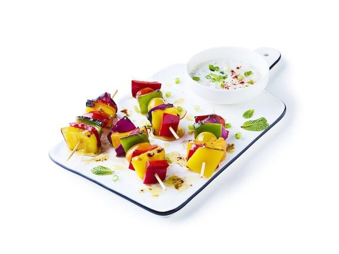 recette de Brochettes de poivron