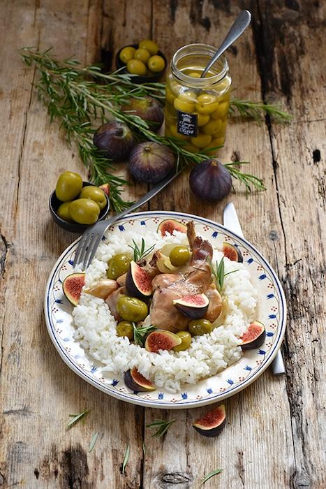 recette de lapin aux olives