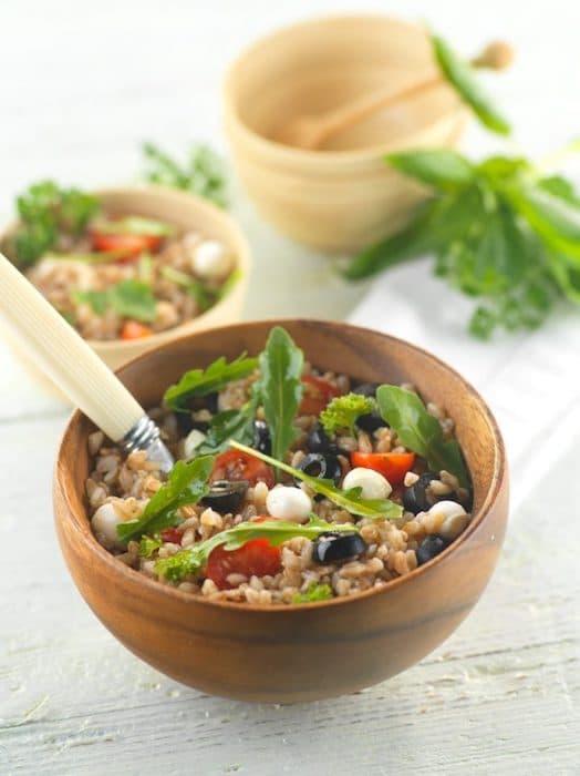 recette de Salade d'épeautre farro
