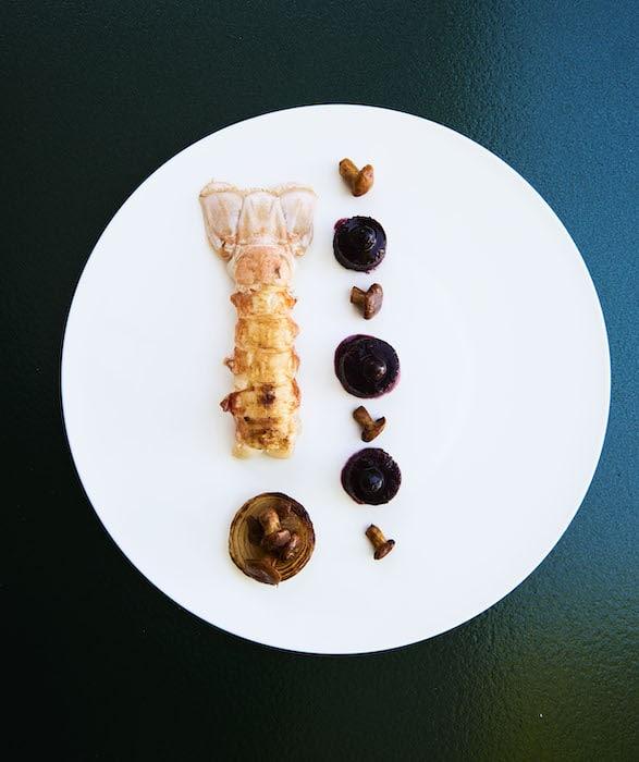 recette de Langoustine patte rouge de casier