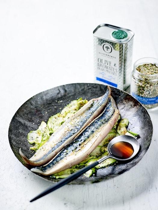 recette de Maquereau mariné