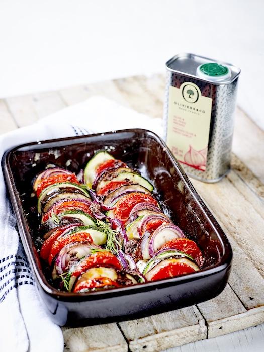 recette de Tian de légumes au romarin